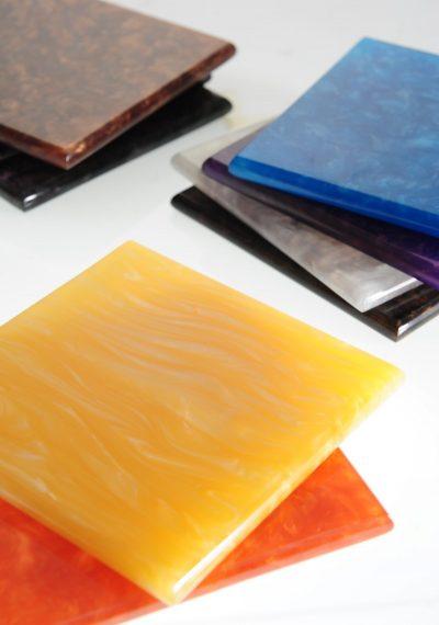 Colourful Solid Surface Kitchen Top Counter Top Corian Staron Hi Mac