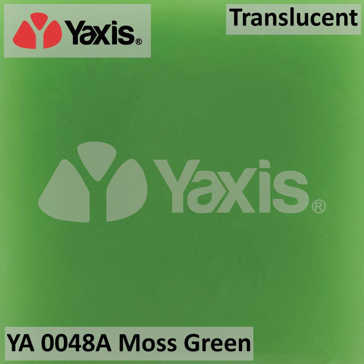 YA 0048A-moss-green-translucent-solid surface-quartz-stone