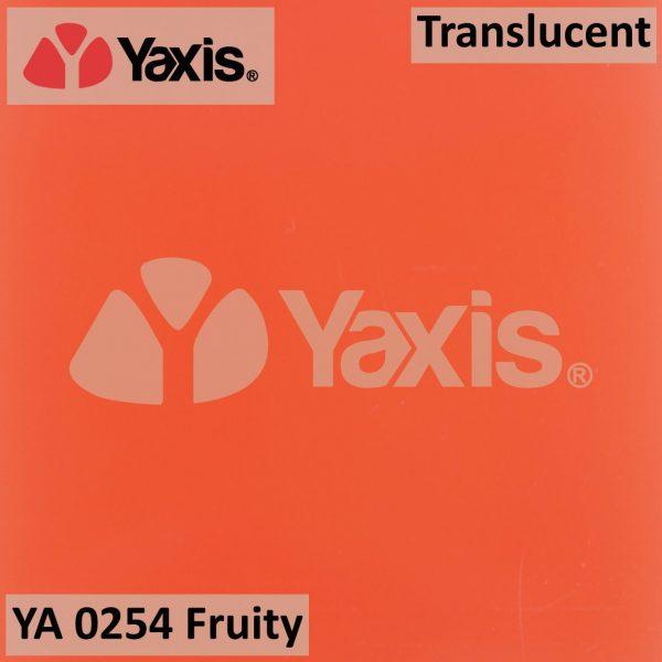 YA 0254-Fruity-orange-translucent-solid surface-quartz-stone
