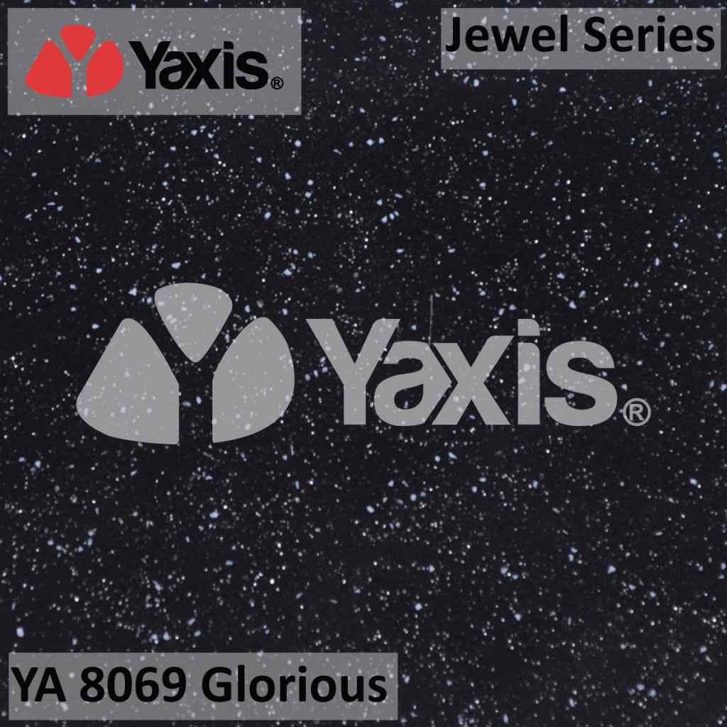 YA 8069 glorious-black galaxy solid surface-black galaxy quartz-black galaxy stone