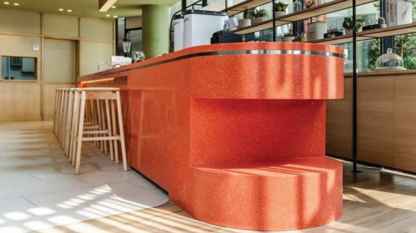 Yaxis-YA3084-Solid-Surface-Coffee-Counter-Thailand-Restaurant