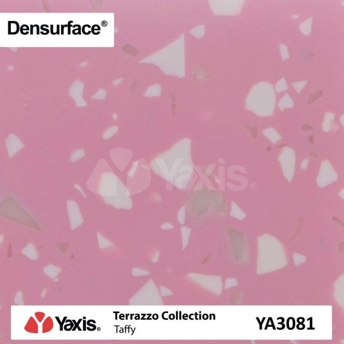 YA3081 Taffy Solid Surface Pink Terrazzo